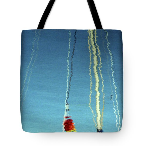 Tote Bag featuring the photograph Reflection On Water by Emanuel Tanjala