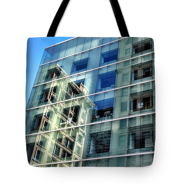 Reflection Rectangle Tote Bag