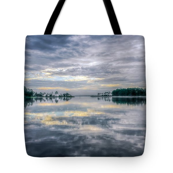 Tote Bag featuring the photograph Reflection by Rob Sellers