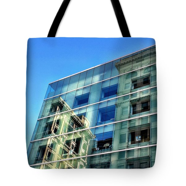 Reflection Square Tote Bag