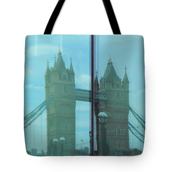 Reflection Tower Bridge Tote Bag