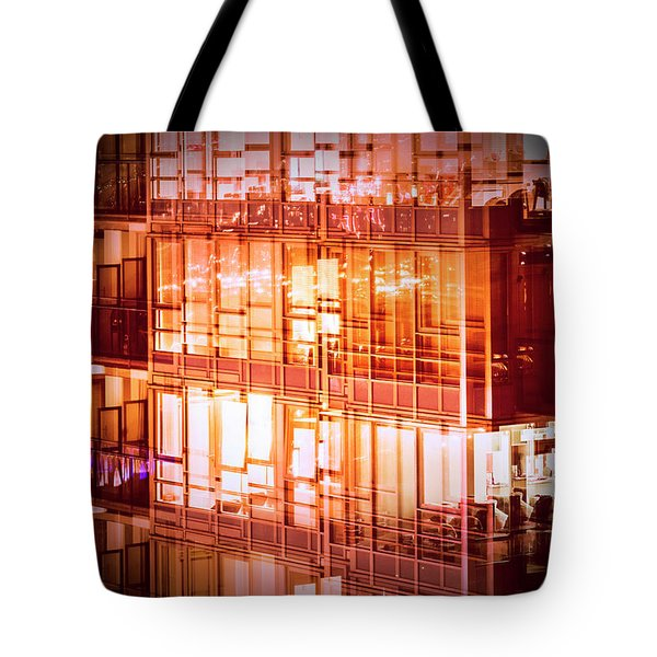 Reflectionary Phase Tote Bag by Amyn Nasser