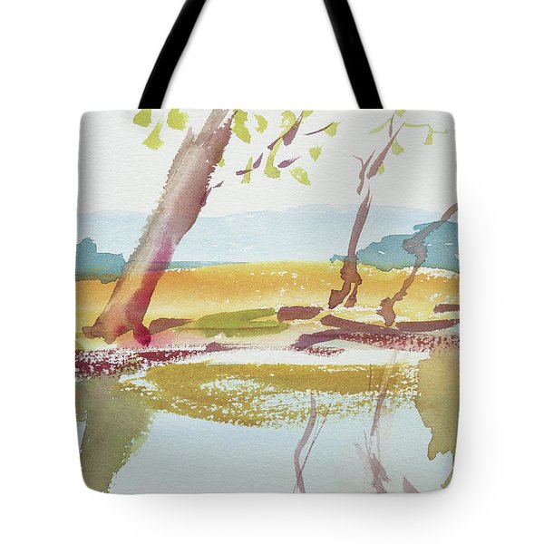 Quiet Stream Tote Bag