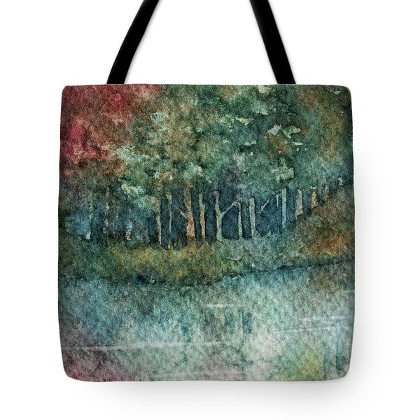 Reflections Along The Water Tote Bag
