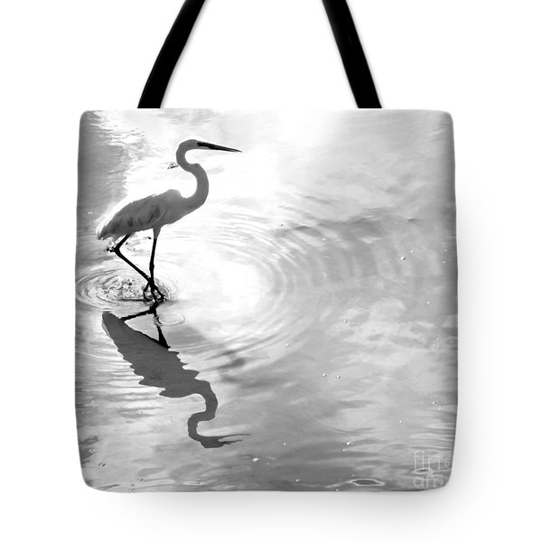 Reflections And Ripples Tote Bag