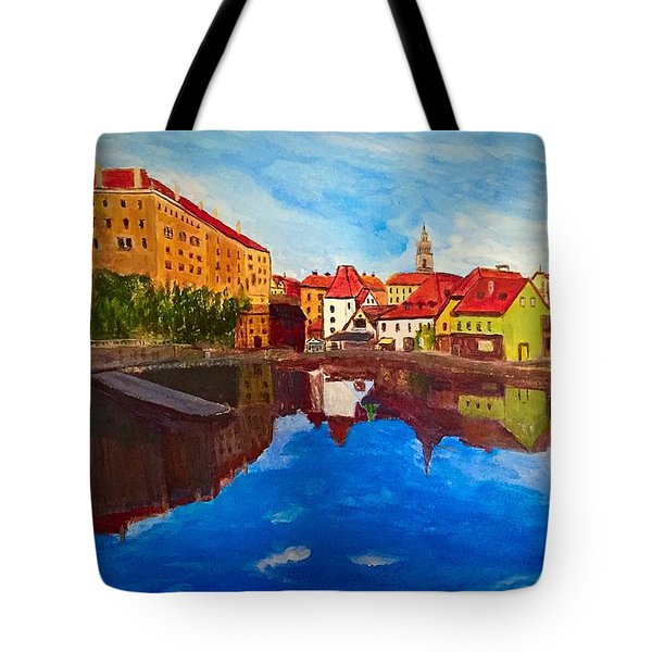 Czech Reflections Tote Bag