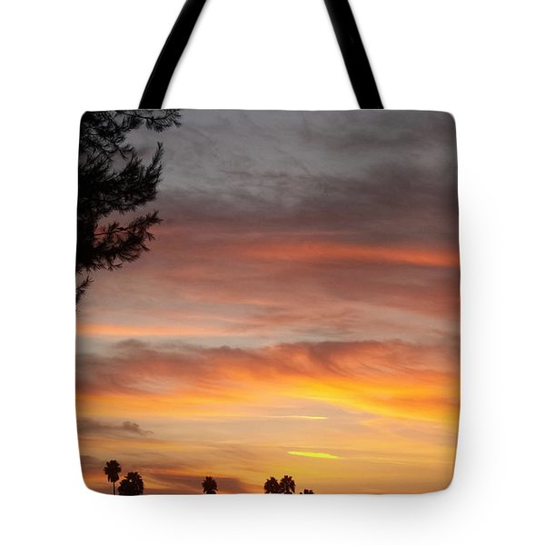 Reflections At The Close Of Day Tote Bag by Glenn McCarthy Art and Photography