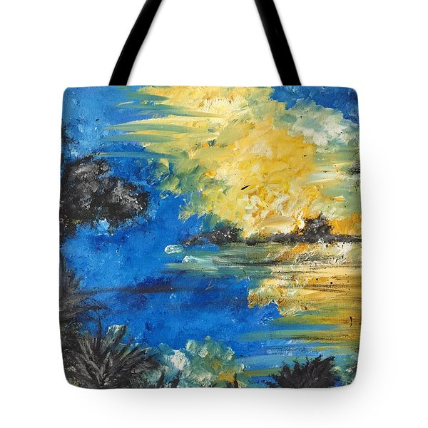 Reflections Tote Bag by Dayna Lopez