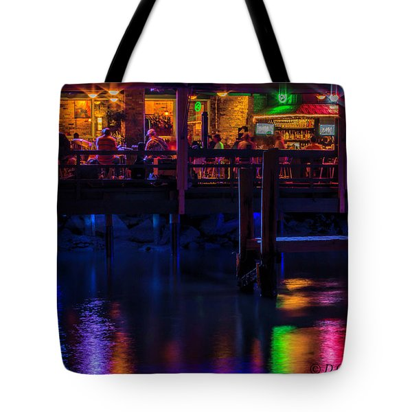 Reflections From Riverview Grill Tote Bag