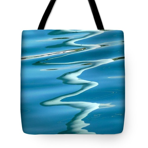 Reflections Genoa Harbor 2 Tote Bag