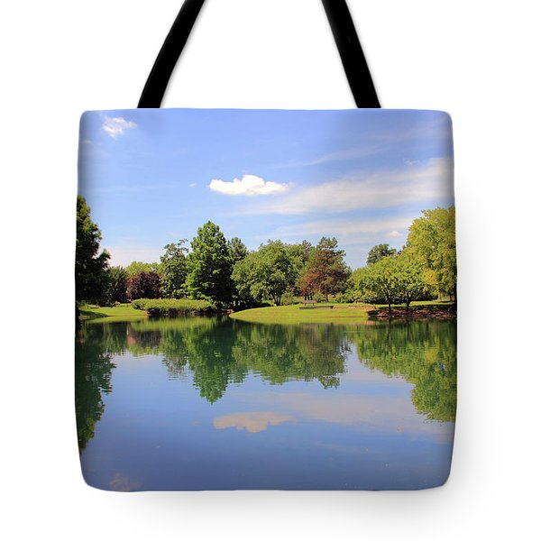 Reflections In A Pond Tote Bag