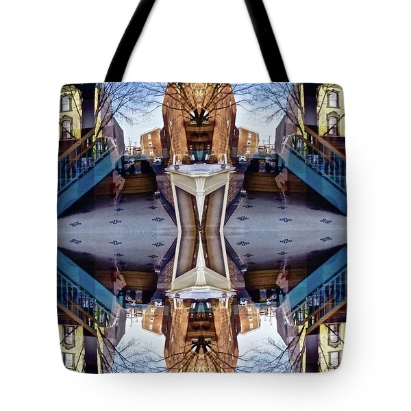 Reflections In Frederick, Maryland Tote Bag