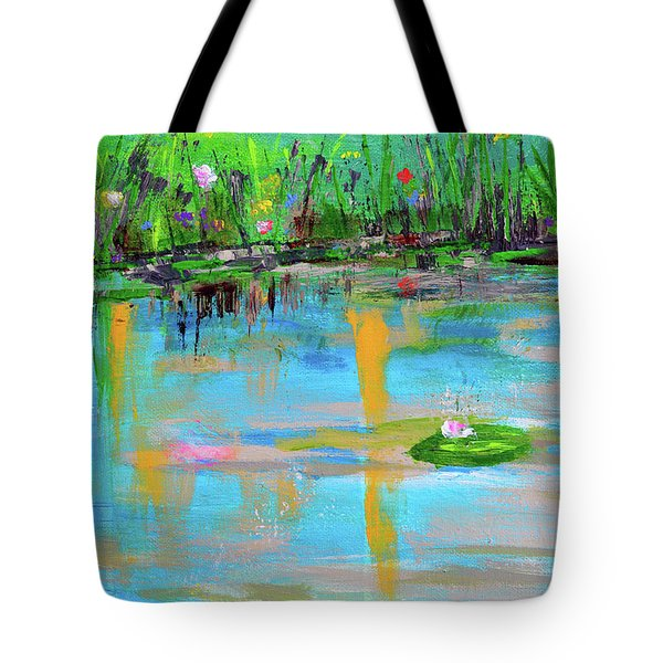 Reflections In Spring Tote Bag