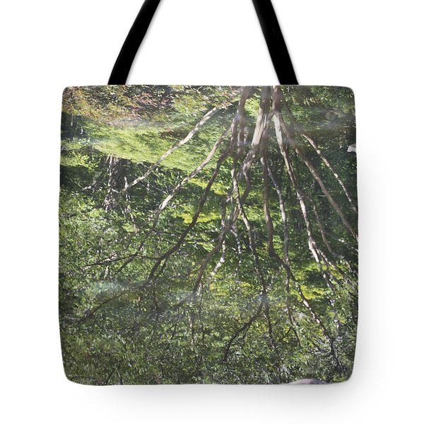 Reflections In The Japanese Gardens Tote Bag