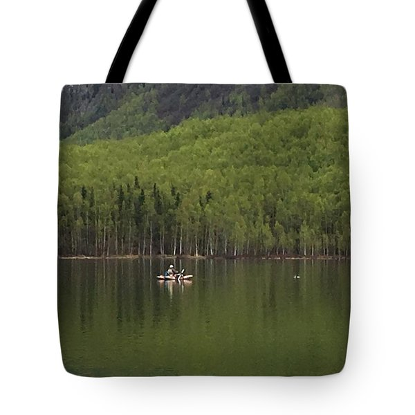 Reflections In The Lake Tote Bag