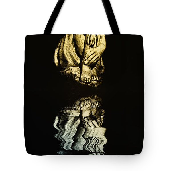 Reflections In The Moonlight Tote Bag by Bill Cannon