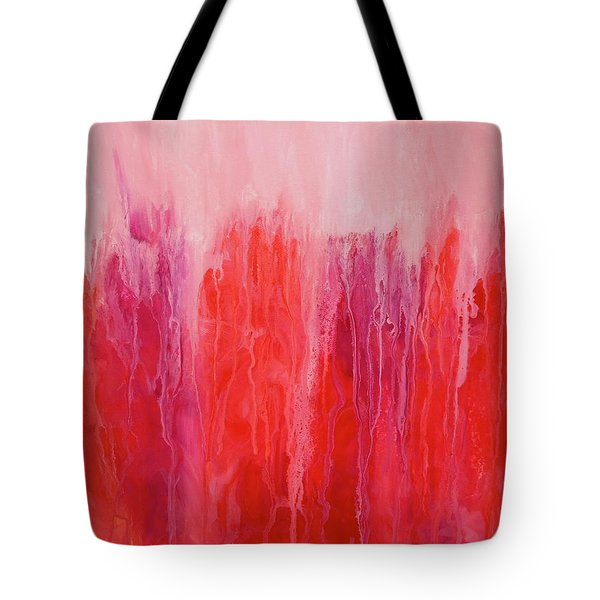 Tote Bag featuring the painting Reflections by Irene Hurdle