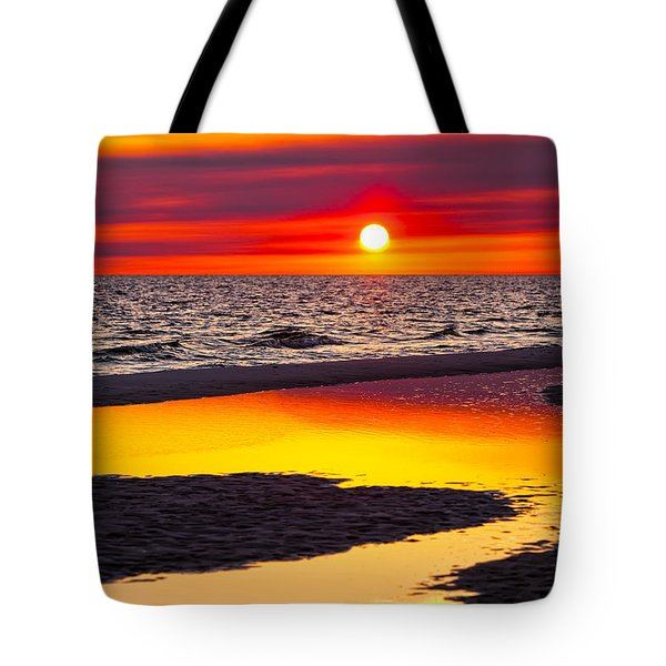 Reflections Tote Bag by Janet Fikar