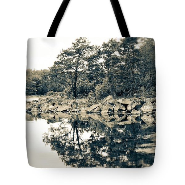 Reflections Tote Bag by Karen Stahlros