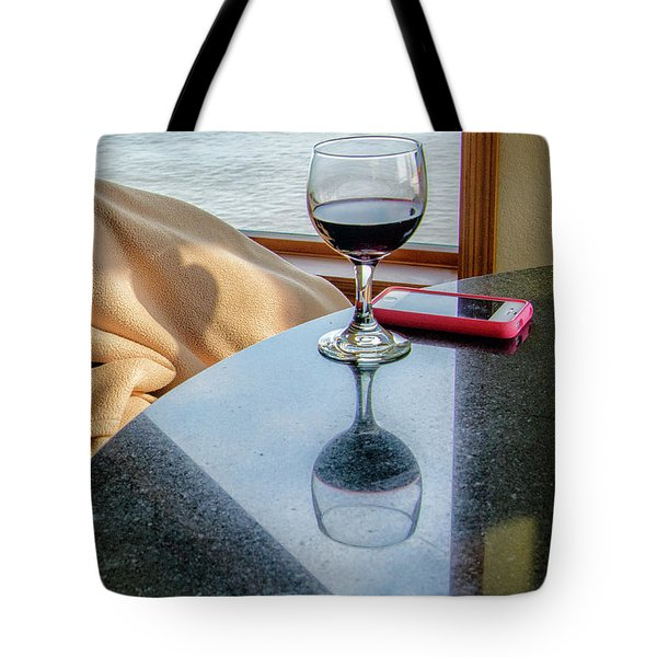 Reflections Lake Superior.... Tote Bag