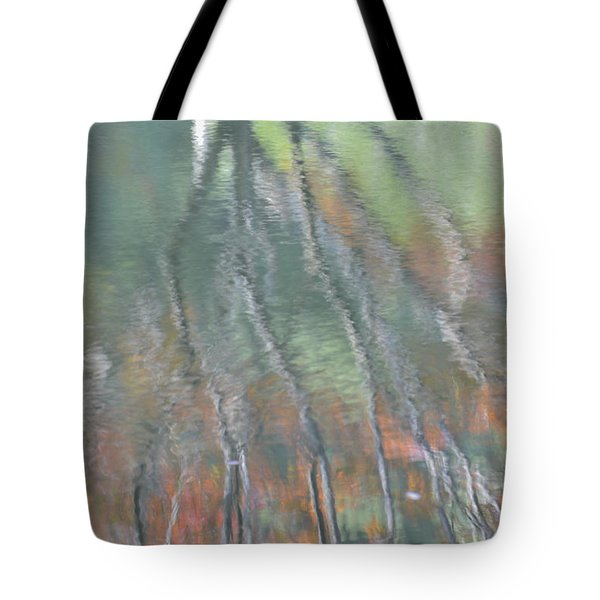 Reflections Tote Bag by Linda Geiger