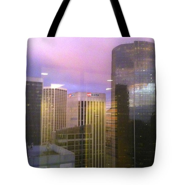 Reflections Looking East Tote Bag