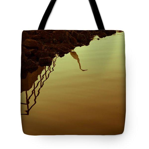 Elegant Bird Tote Bag