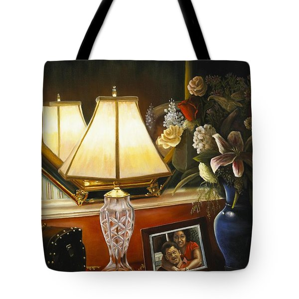Reflections Tote Bag by Marlene Book