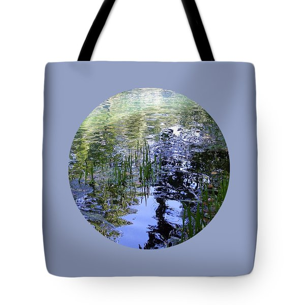 Tote Bag featuring the photograph Reflections  by Mary Wolf