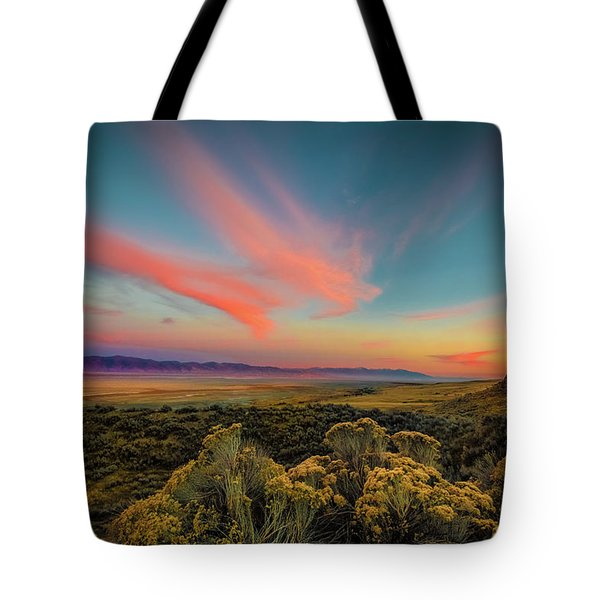 Reflections Of A Sunset Unseen Tote Bag