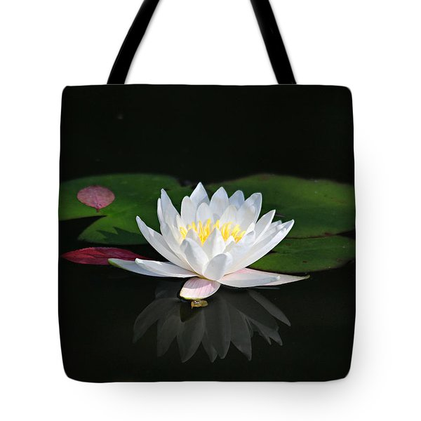 Reflections Of A Water Lily Tote Bag