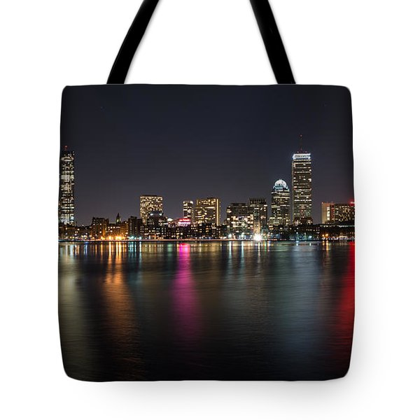 Reflections Of Boston Tote Bag
