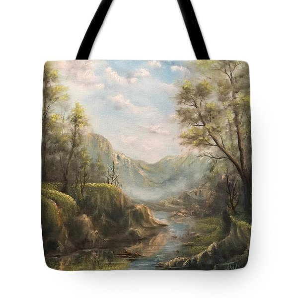 Reflections Of Calm  Tote Bag