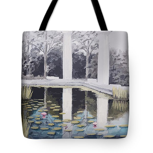 Reflections Of Days Of Future Past Tote Bag