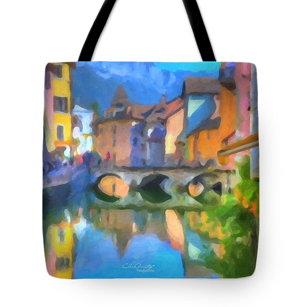 Reflections Of Eze Tote Bag