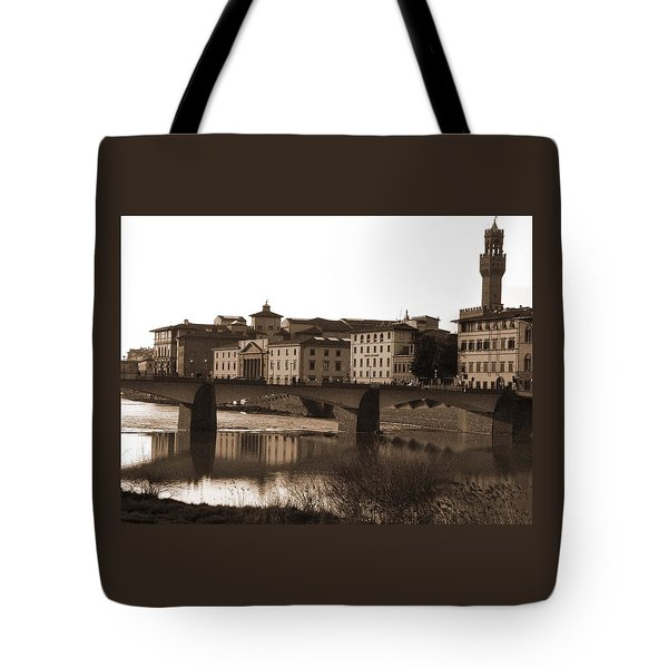 Reflections Of Florence Tote Bag