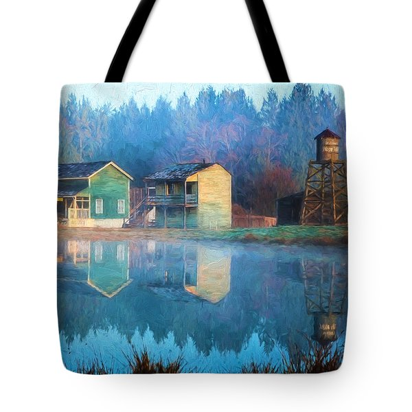 Reflections Of Hope - Hope Valley Art Tote Bag by Jordan Blackstone
