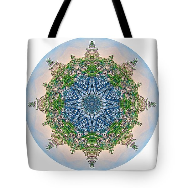 Reflections Of Life Mandala 2 Tote Bag