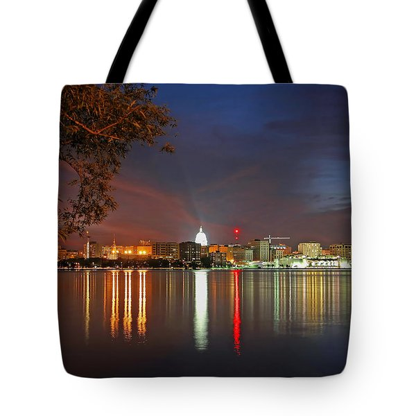 Reflections Of Madison Tote Bag