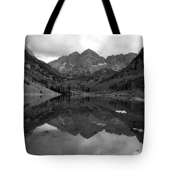Reflections Of Maroon Bells Tote Bag