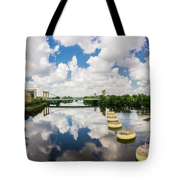 Reflections Of Minneapolis Tote Bag