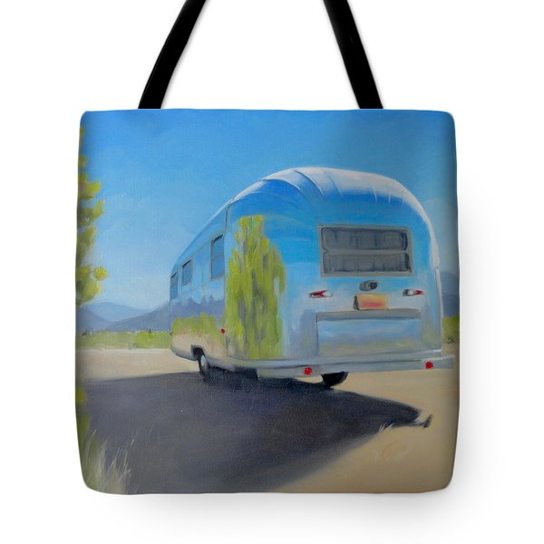 Reflections Of Mountain And Sage Tote Bag