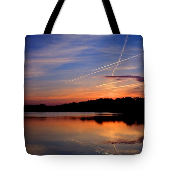 Reflections Of Night Tote Bag