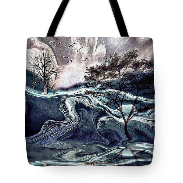 Reflections Of Nirvana Tote Bag