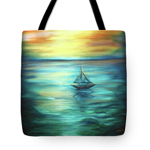 Reflections Of Peace Tote Bag