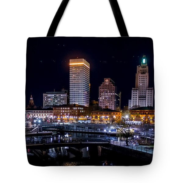 Reflections Of Providence Tote Bag