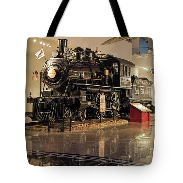Reflections Of Steam Tote Bag
