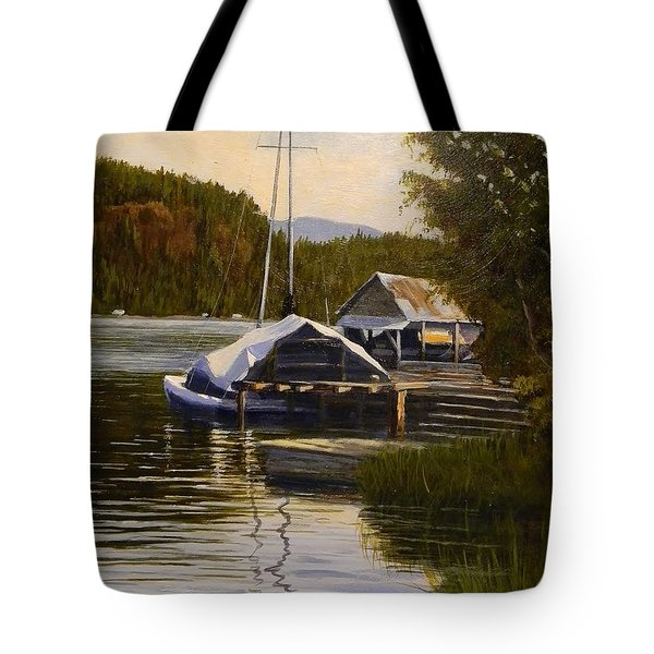 Reflections Of Summer Tote Bag