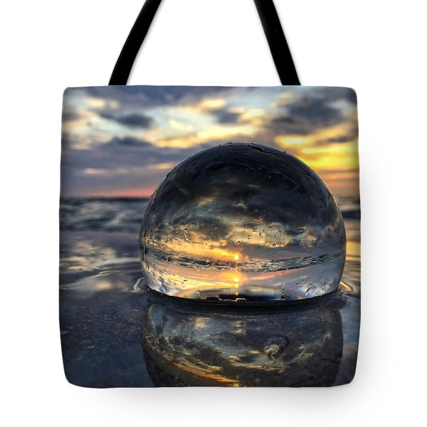 Reflections Of The Crystal Ball Tote Bag