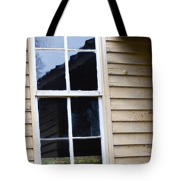 Tote Bag featuring the photograph Reflections Of The Past by Debbie Karnes